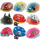 CHILDRENS DISNEY CHARACTER SAFETY CYCLE BIKE HELMETS - PEPPA PIG PJ MASKS & MORE