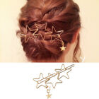 Hairpin Hollow Metal Five-Pointed Star Hairpin Simple Ladies Hair Accessories GI