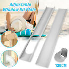 2X Window Slide Kit Plate/6inch Window Adapter for Portable Air Conditioner Sanw