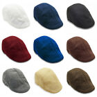 Mens Ivy Hat Cotton Newsboy Gatsby Cap Golf Driving Flat Cabbie Beret Hat AU
