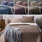 Soft Velvet Sherpa Flannel Fleece Bedding Quilt Coverlet Bedspread Blanket Set image