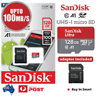 SanDisk 128GB Ultra Micro SD Card SDXC UHS-I 100MB/s Mobile Phone TF Memory Card