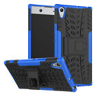 For Sony Xperia 10 Plus XA2 XA1 Ultra L2 XZ3 XZ2 Case Rugged Armor Stand Cover