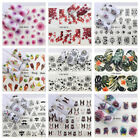 Nail Stickers Multiple Patterns Watermark Nail Decals for Toen and Finger GIFT