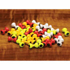 Hareline Painted Lead Dumbbell Eyes Fly Tying Materials - All Varieties