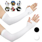 Pairs Unisex Outdoor Sport Cooling Arm Sleeves UV Sun Protection Hand Covers US