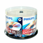 PHILIPS 8X DVD+R DL 8X Dual Double Layer 8.5GB Branded Logo Spindle