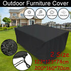 Waterproof Garden Patio Outdoor Furniture Cover Square Rattan Table Cube Outdoor