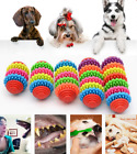 Dog Cat Puppy Pet Rubber Dental Teeth Gum Healthy Care Teething Clean Chew Toys