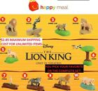 2019 McDonalds Disney THE LION KING Happy Meal Toys YOU PICK - ALL TOYS IN HAND!