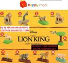 2019 McDonalds Disney THE LION KING Happy Meal Toys, Stickers, Boxes - IN HAND!!