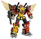 Transformers WeiJiang Predaking Combiner 5 In One Set Feral Rex Action Figure