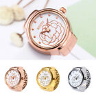 Dial Quartz Analog Watch Elastic Creative Steel Cool Quartz Finger Ring Watch_q image