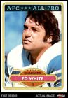1980 Topps #190 Ed White - All-Pro Chargers EX $1.35 USD on eBay