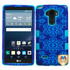 For LG G Vista 2 Design TUFF Case Cover Armor Rugged Shell