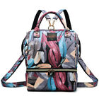 Womens Mummy Nappy Diaper Bag Multifunction Maternity Baby Bags Travel Backpack