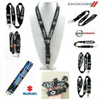 Car Logo Polyester Lanyard Card Holder Keychain for Cellphone Keys MP3 IDs Badge $5.96 CAD on eBay