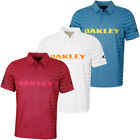 Oakley Mens 2019 74 Auto Lightweight Breathable Golf Polo Shirt 41% OFF RRP