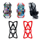 Universal Silicone Support Strap Band for Mountain Bicycle Phone Holder Mount C