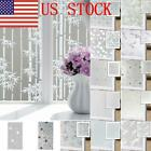 US Frosted Glass Privacy Screen Doors Window Static Cling Cover Self Adhesive