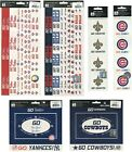 MLB NFL Scrapbook Stickers Pick from 69 LOGOS FRAMES BORDERS baseball football $4.99 USD on eBay