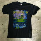 MEGADETH 80's Vintage T Shirt Tour 1989 Contaminated THRASH METAL BAND REPRINT image