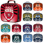 New NFL PICK YOUR TEAMS Adult / Kids Insulated Lunch Box Bag School Bag Cooler $16.98 USD on eBay