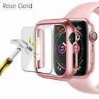 For Apple Watch Series 4/3/2/1 Full Bumper Cover TPU Case + Screen Protector