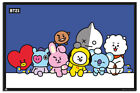 Laminated BT21 Group Poster Official Licensed 24 x 36 Inches