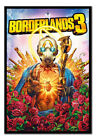 Framed Borderlands 3 Gaming Cover Poster Official Licensed 26 x 38 Inches