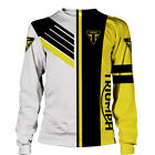 TRIUMPH MOTORCYCLES-Top Gift-Man's Long Sleeve Shirt 3D-FREE SHIPPING-SIZE S-5XL $46.95 USD on eBay