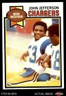 1979 Topps #217 John Jefferson Chargers NM $5.25 USD on eBay