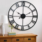 23 Large Outdoor Garden Wall Clock Antique Big Roman Numeral Giant Open Face
