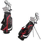 MacGregor Mens CG2000 Complete Package Full Set Golf Clubs Bag Right Handed
