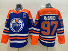 Men's Edmonton Oilers #97 Connor McDavid Blue Jersey $60.0 USD on eBay