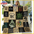 Harry Potter Quilt Blanket Full Size Made In USA  image
