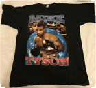 Vintage 90s Mike Tyson Rap Boxing Hip Hop Black T-Shirt Size S to 2XL G145 image