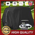 2/4 Passenger Golf Cart Buggy Cover Waterproof Protection For Yamaha EZ Go Club