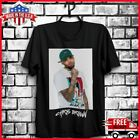 FREESHIP Chris Brown Indigoat T-Shirt Black Cotton For Fan Full Size Made In USA image
