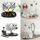 Jewelry Display Organizer Necklace Ring Earring Deer Tree Stand Holder Show Rack