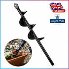 9'' Earth Auger Drill Bit Fence Garden Planting Post Hole Digger Tool Weeding