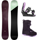 Nidecker Venus 139 Womens Snowboard+FLOW Bindings+Head BOA Boots NEW
