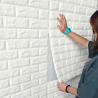 50x 3d Tile Brick Wall Sticker Self-adhesive Wallpaper Waterproof Panel 60x30cm