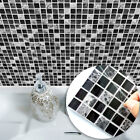 10pcs Mosaic Tile Stickers Home Kitchen Bathroom Floor Wall Decoration Us Local