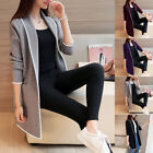 Fashion Women's Oversized Long Zip Up Hoodie Sweater Sweatshirt Dress Jacket
