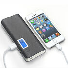 50000mAh/20000mAh LCD Power Bank 2 USB LED Battery Charger For iPhone 11 Pro Max