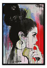Loui Jover Planets Art Poster Framed Cork Pin Notice Board With Pins New