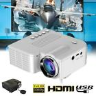 UC28 1080P HD LED Mini Portable Projector Home Theater Cinema AV VGA USB HDMI