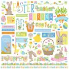"Elements - Bunny Trail Stickers 12""X12"""