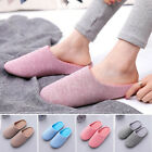 Adults Unisex Winter Soft Slippers Women Men Home Indoor Home House Warm Shoes